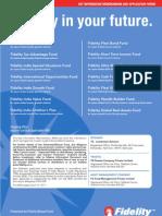 Fidelity Tax Advantage Fund Application Form