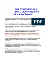 Scheinfeld Teachings Overview