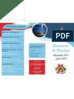 Programa de Navidad 2011