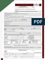 Taurus Tax Shield Application Form