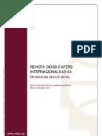 Delgado, M. - Dinámicas identitarias y espacios públicos [1998]