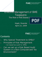 Risk Based Audit System for SMEs IFC