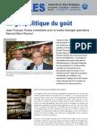 La géopolitique du goût - Note d'Analyse Géopolitique - Hors-série n°10