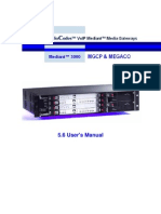 Ltrt-95206 Mediant 3000 + Tp-6310 Mgcp+Megaco User's Manual Ver 5.6