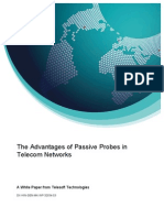 Telesoft Technologies the Advantages of Passive Probes