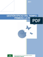 Manual de Gestion Del Tiempo