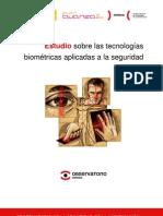 Estudio sobre las tecnologías biométricas aplicadas a la seguridad