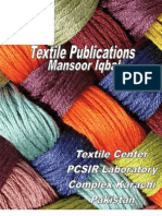Textile Publications Mansoor Iqbal