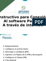 Instructivo Conexión al aplicativo Pacífico