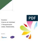 Port a Folio Criterios de Visibilidad y Planogramas MY