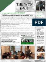WYN Newsletter December 2011