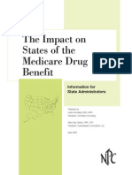 The Impact on States of the Medicare Drug Benefit