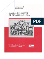 Manual Del Agente Del Desarrollo Local