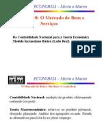 DETERMINAÇÃO DA RENDA E PRODUTO-MODELO KEYNESIANO