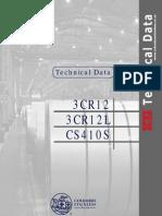 Technical Data 3cr12 - Ac410s (June 2007)