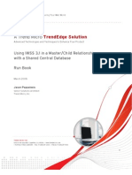 Trend Micro IWSS3.1 Master-Child and Shared dB 090205