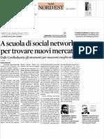 Ecco i social network delle associazioni di categoria - da Con4you ai gruppi di studio - accade in Veneto