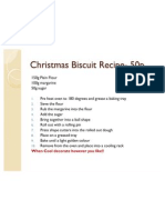 christmas biscuit recipe