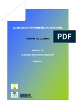 Manual_alumno_modulo3, Auxiliar de Enfermeria