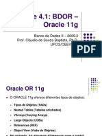 Unidade4.1 Oracle Or