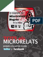 II Concurs de Microrelats Negres de la Bòbila