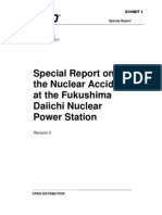 ML11347A454 - Special Report on the Nuclear Accident at the Fukushima Daiichi Nuclear Power Station INPO