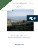 Elemendi Di Diritto Pubblico Italiano Abstract