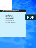 Air Quality Monitoring Programme - Unknown - 2004