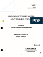 Nuclearcriticality Safety - National Laboratory, Schiesser - 1992