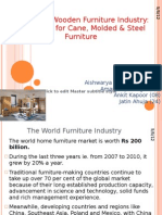 Decline of Wooden Furniture Industry