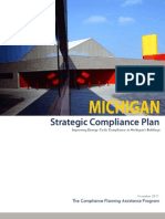 Michigan Strategic Compliance Plan FINAL
