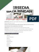 BATA RINGAN SETARA HEBEL, CITICON, POWER BLOCK HARGA MURAH DI BEKASI