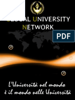 Presentazione Glocal University Network