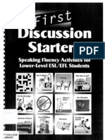 Discussion Starters