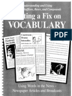Getting a Fix on Vocabulary