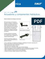 Nota tecnica actuadores hidráulicos