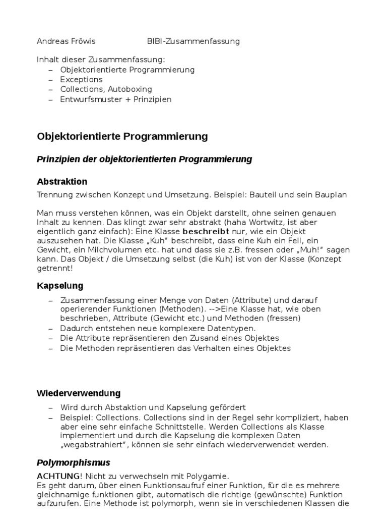 Charmant Zusammenfassung Der Funktionszusammenfassung Der Vorlage ...