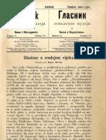 Glasnik Zemaljskog Muzeja 1892./god.4 knj.2