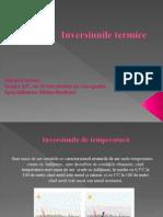 Inversiunile termice