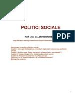 V. Naumescu. Politici Sociale