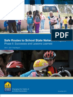2010-2011 Final Report on the State Network Project, SRTS National Partnership