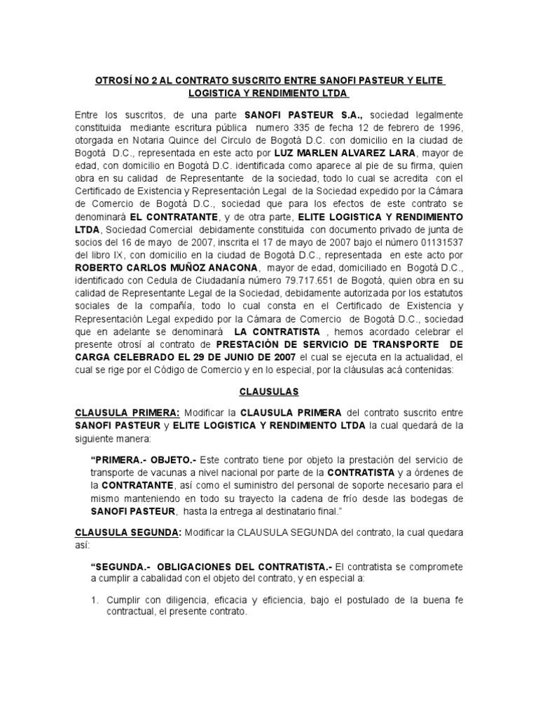 Asombroso Plantilla De Contrato De Contratista Motivo - Ejemplo De ...