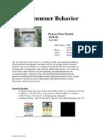 Consumer Behavior 2006