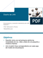 1.- Diseño de  Lan ccna3