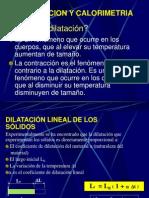 dilatacion y calorimetria