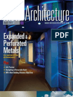 Metal Architecture Magazine - April 2011