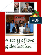 monthly newsletter december 2011 - a story of love  dedication