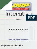 CONTEUDO CIENCIAS SOCIAIS