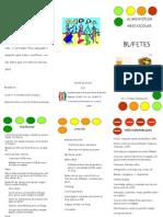 Folheto Bufetes