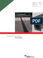 ACO ParkDrain Brochure